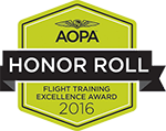 AOPA Flight Training Excellence Award